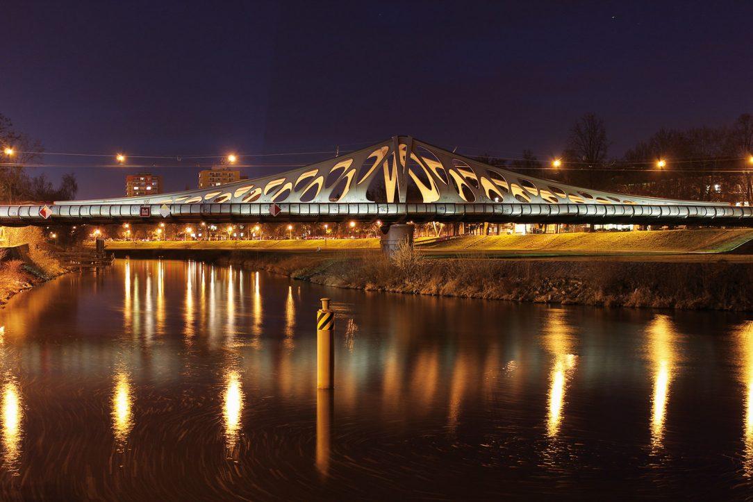 Dlouhý most v Českých Budějovicích