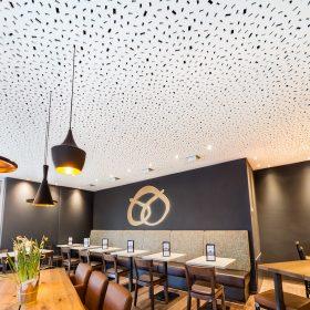Knauf Cleaneo RE účinně zlepší akustiku prostoru