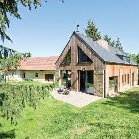Obytná stodola v Českém ráji