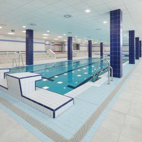 Rekonstrukce plaveckého bazénu v bratislavské SPŠ