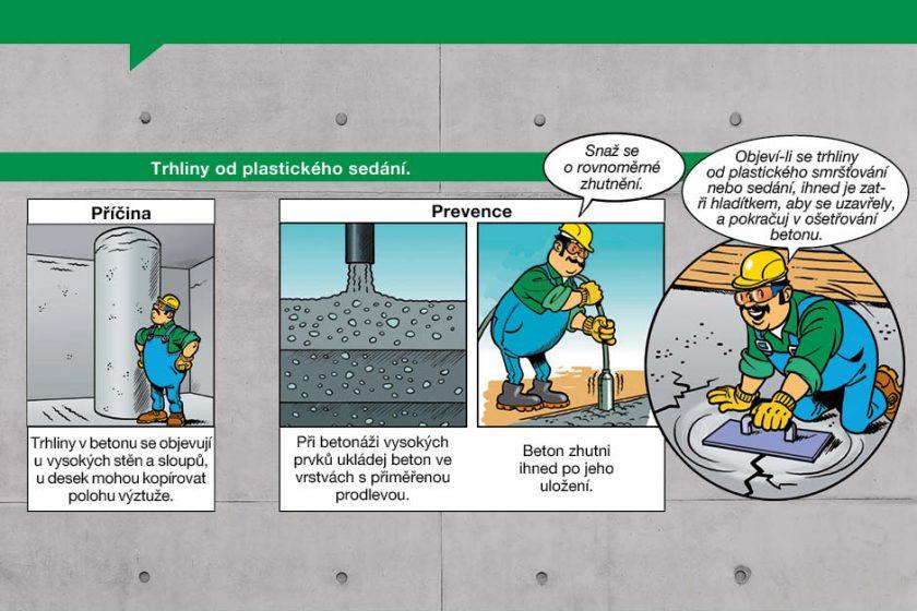 Trhliny v betonu 3