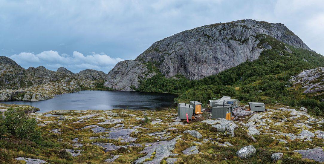 Turistické chaty v norském Soddatjørnu