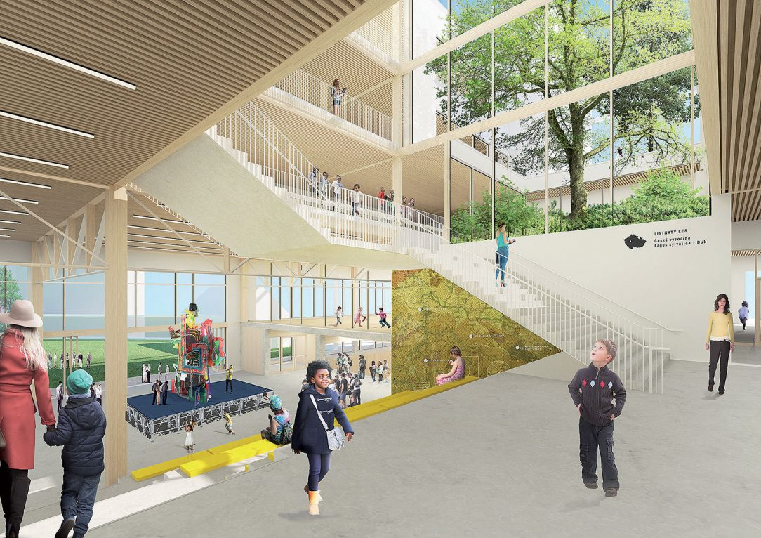 Školní atrium