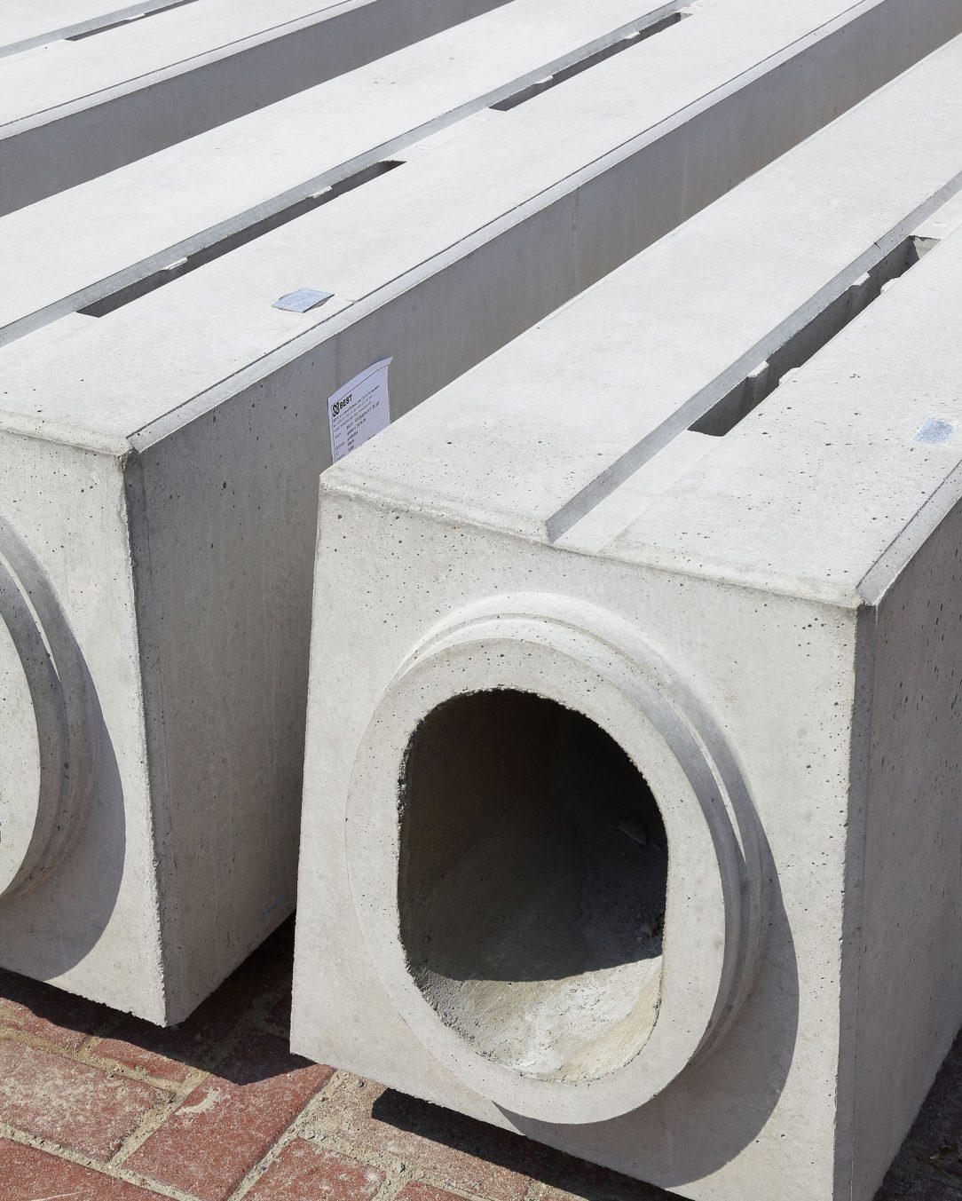 Betonové trouby se štěrbinovým žlabem