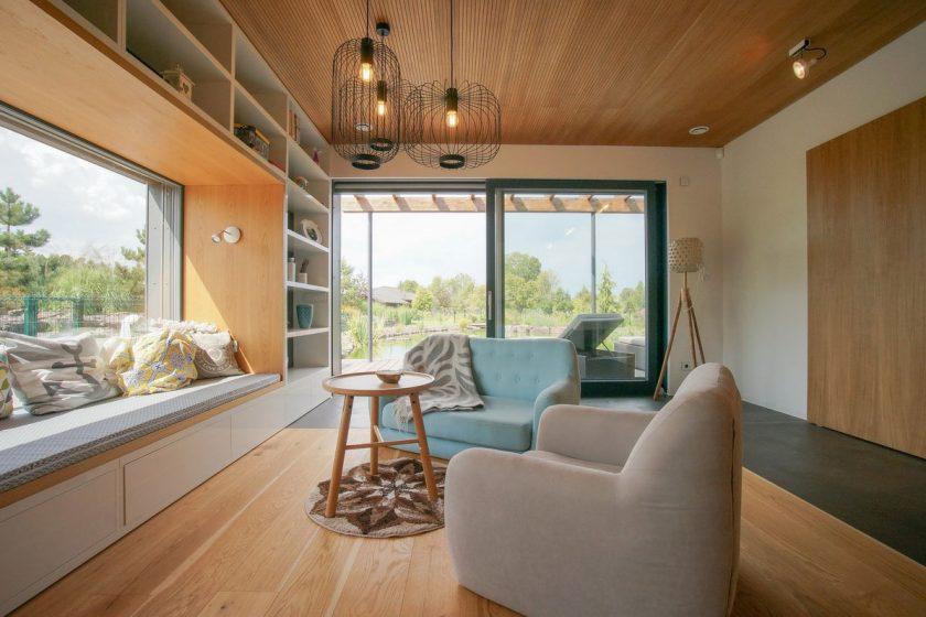 Dřevěná okna osazená izolačními trojskly