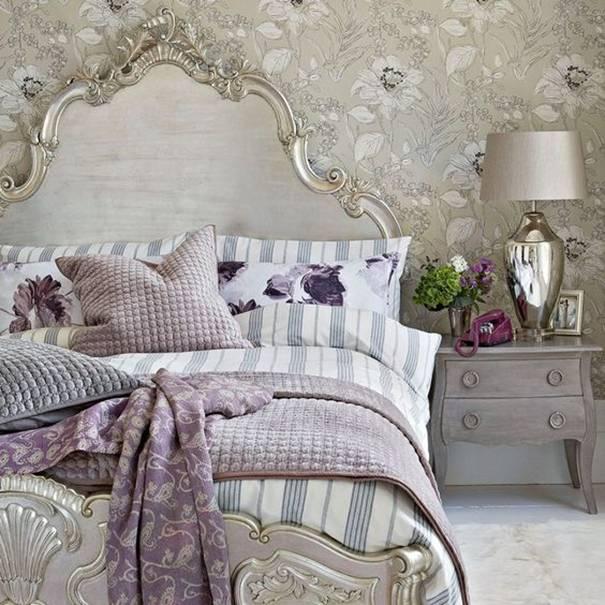 Do glamour stylu se promítají prvky zdobného baroka a rokoka