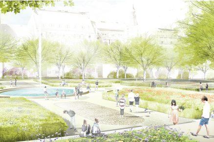 Karlovo náměstí se promění pod taktovkou německého krajináře a dvou tuzemských architektonických studií