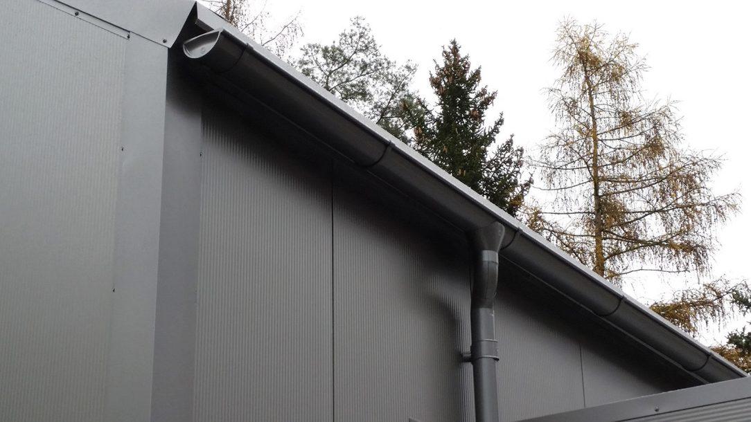 Při výstavbě byl použit systém LINDAB STAVBY který výrazně zkracuje stavební procesy čímž se snižují negativní vlivy na bezprostřední okolí a minimalizuje se také hluková zátěž.