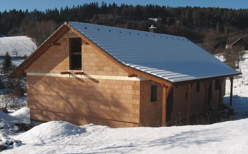 Stavíme i v mírné zimě