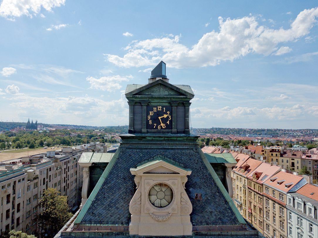 Vodárenská věž Periskop Praha 2018
