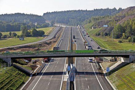 Dokončený úsek dálnice D4 Skalka – křižovatka II/118