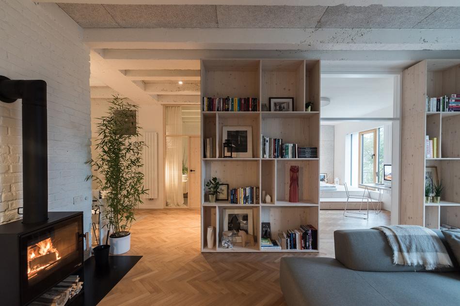 rekonstrukce přízemního bytu Bratislava 2