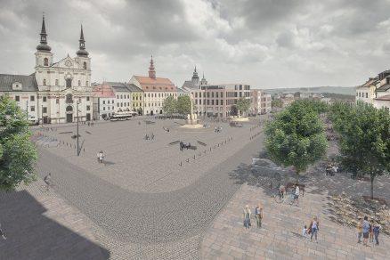 Nová podoba Masarykova náměstí v Jihlavě