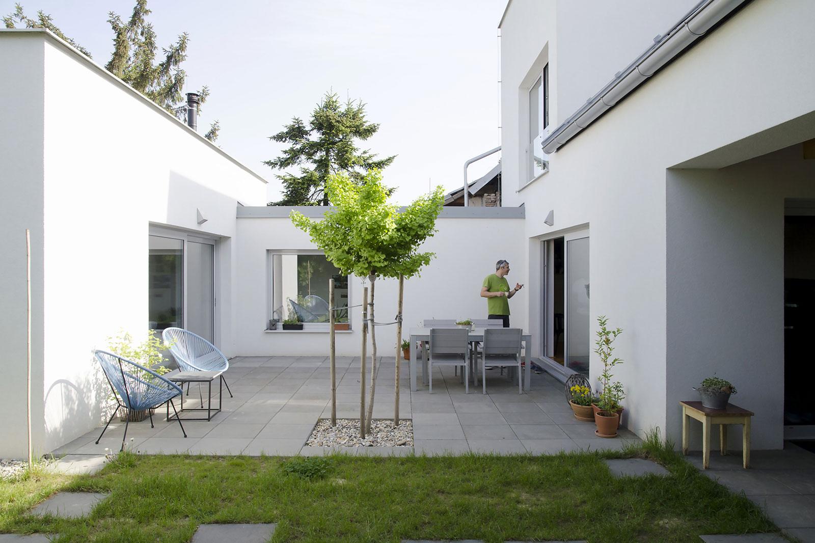 Rekonstrukce rodinného domu Moravany 13
