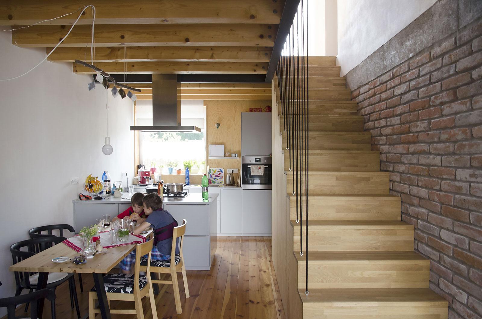 Rekonstrukce rodinného domu Moravany 7
