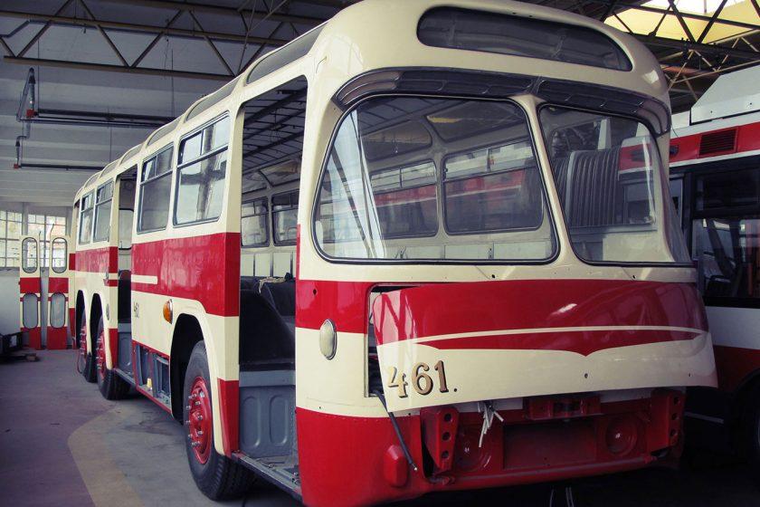 Historická vozidla jsou uložena v depozitáři bývalých kasáren v Řečkovicích vystavována jsou příležitostně.