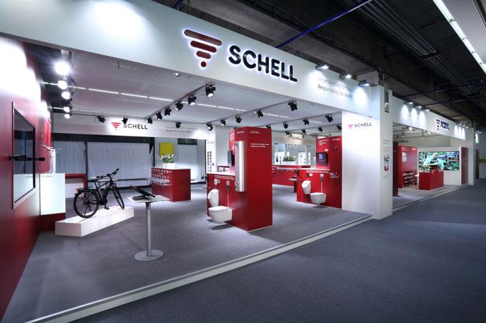 Prezentace společnosti Schell na veletrhu ISH 2017
