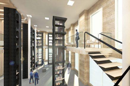 Prostor motivuje návštěvníky ke čtení