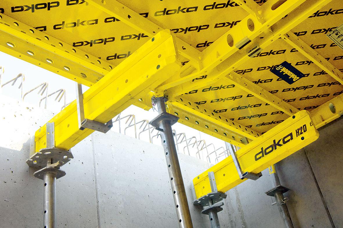 asově úsporné dobednění u stěn je možné díky plynulému přechodu na Dokaflex.