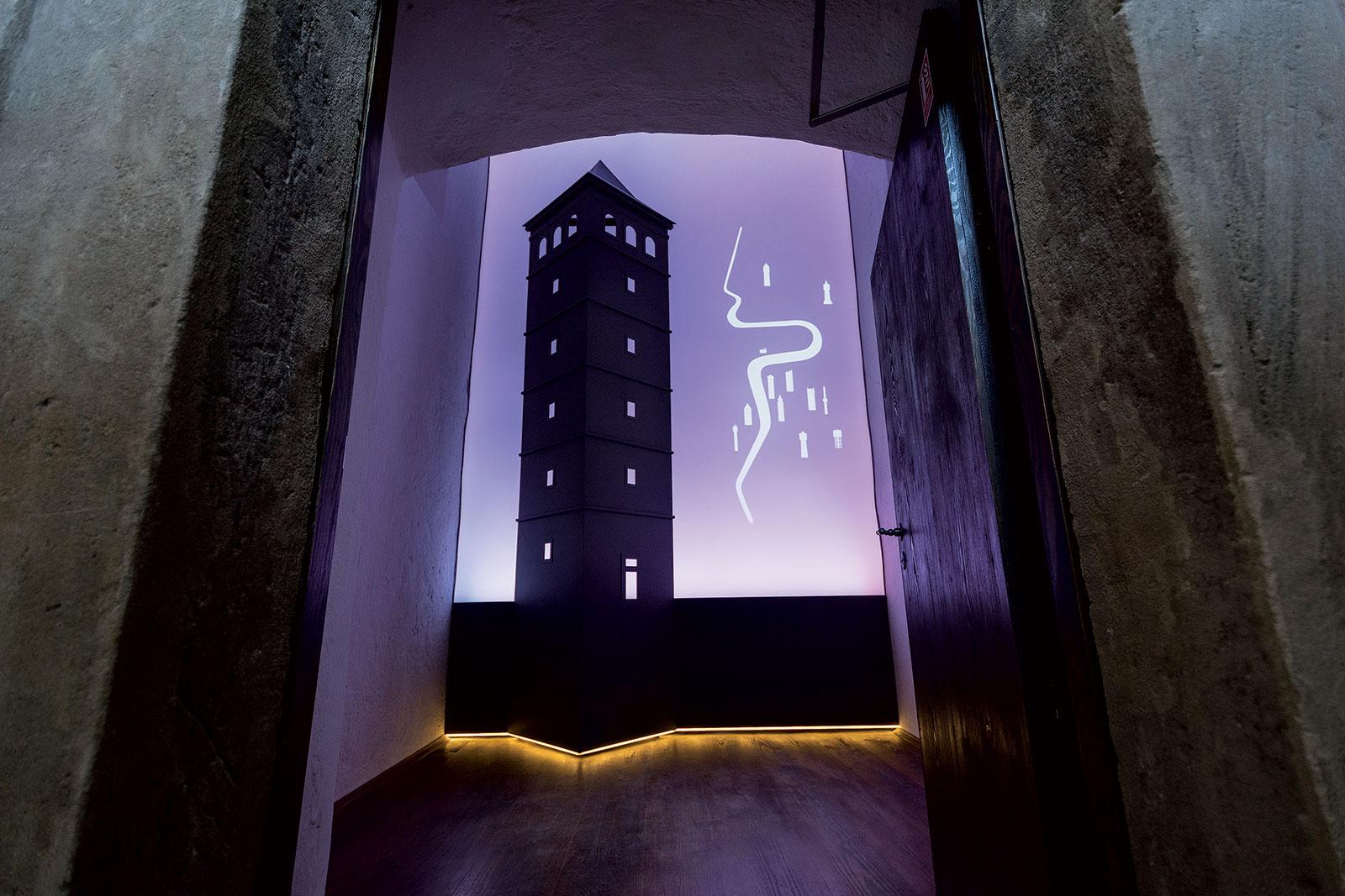 Interaktivní expozice pražských vodárenských věží a požárů