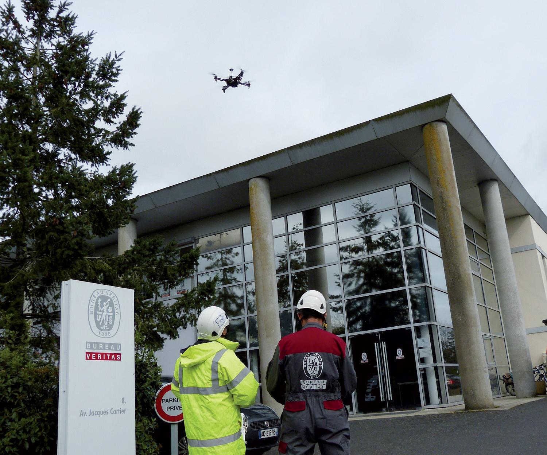 Letecke inspekce dronem