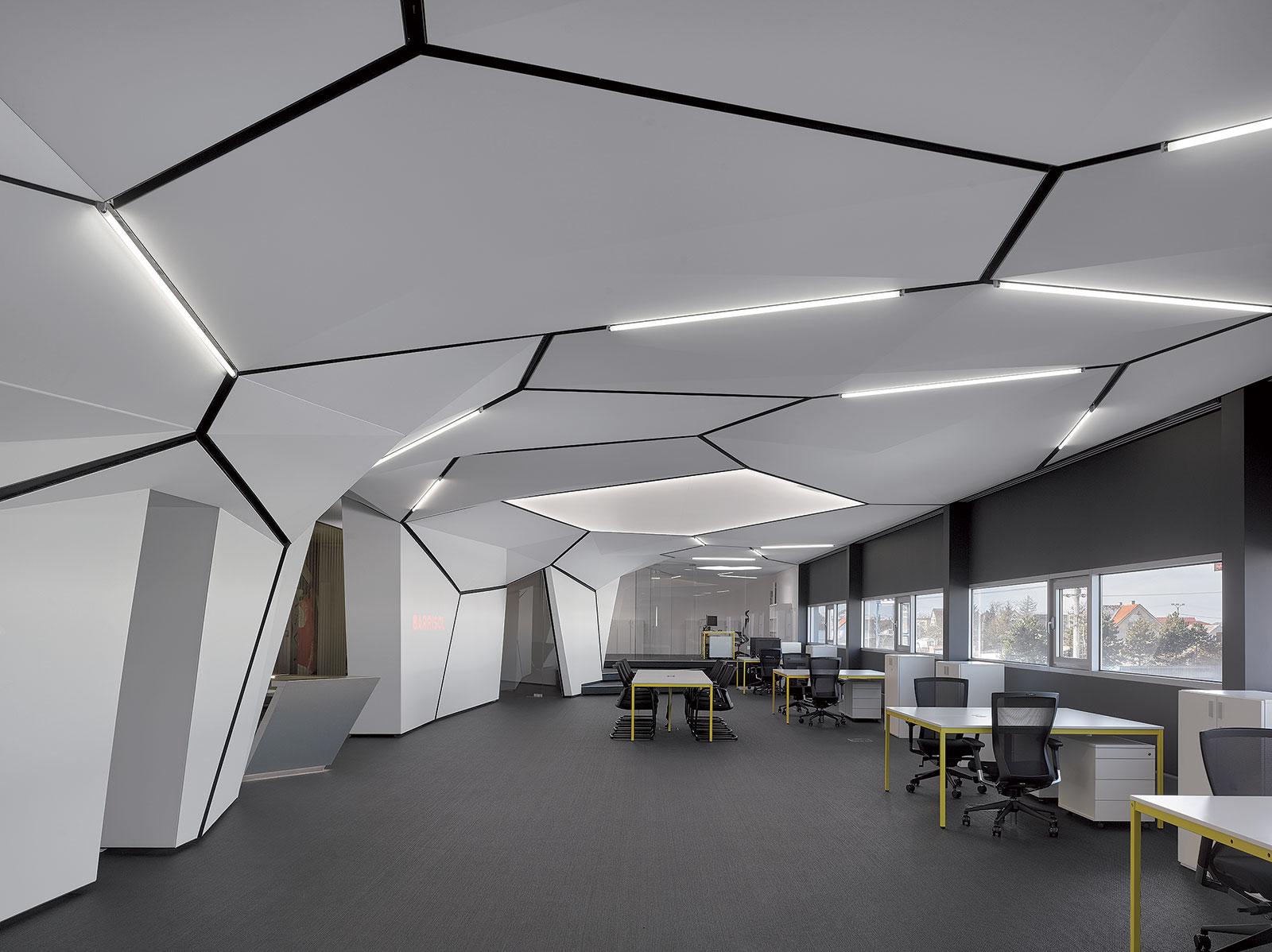 Místo setkávání architektů designérů a zákazníků