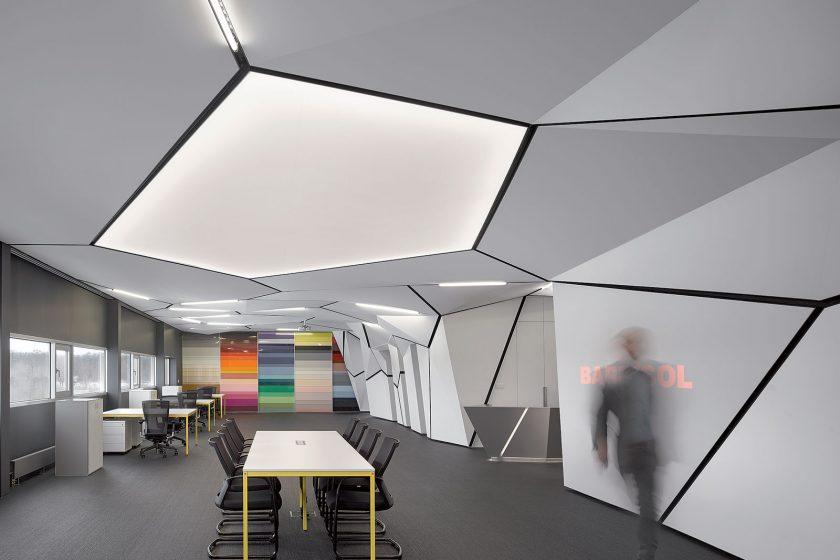 Nový showroom je prostorem kde jsou materiály prezentované naživo