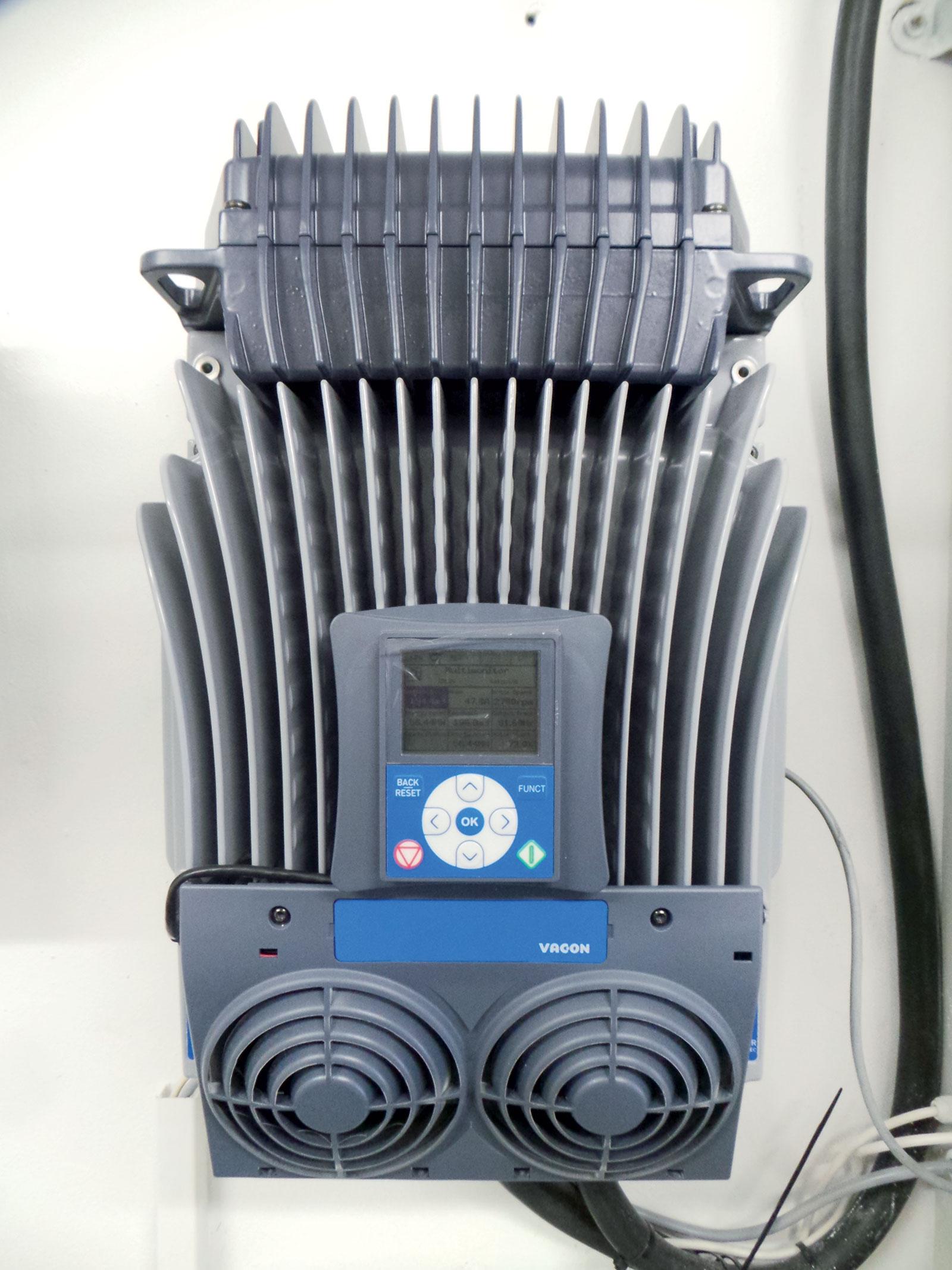 Obr. 5 Detail frekvenčního měniče