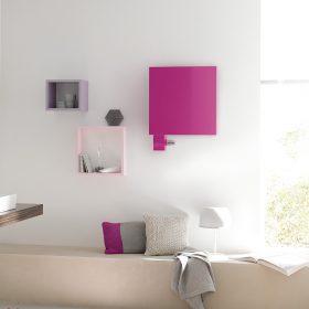 Signo volitelně jako jeden topný prvek ve speciálním barevném provedení crocus nature.
