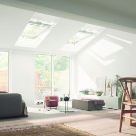 Střešní okna mají své místo i v bungalovech