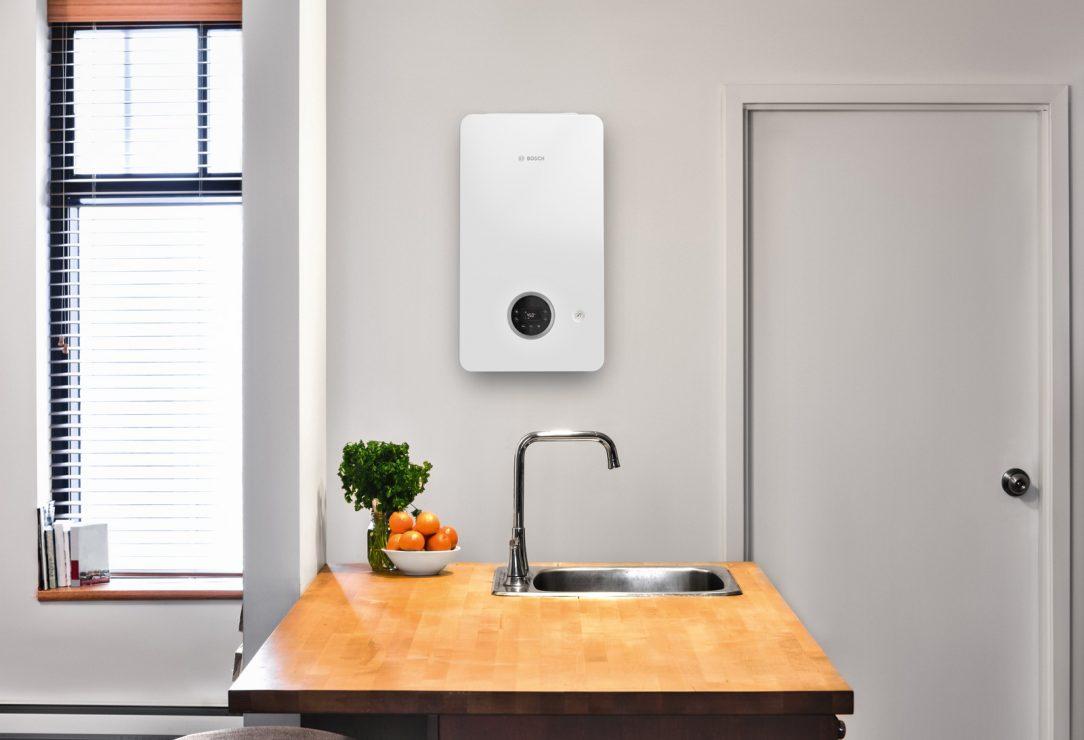 Nový plynový kotel je vybaven moderním displejem s velmi jednoduchým a intuitivním ovládáním které zvládnete i bez návodu.