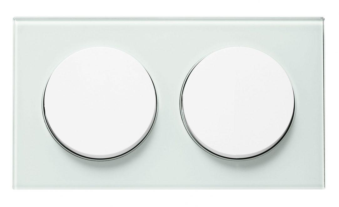R.8 dvojrámeček bílé sklo