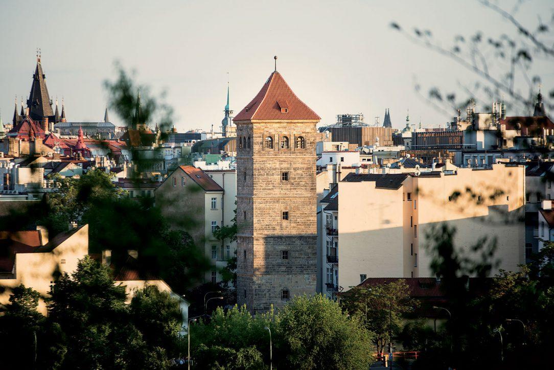 Rekonstrukce Novomlýnské věže Praha