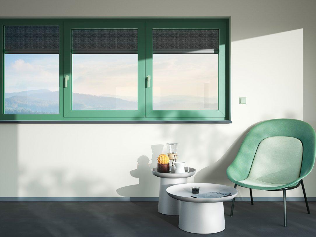 Exkluzivní barevné odstíny Les Couleurs® Le Corbusier jsou dostupné pro všechna systémová řešení heroal a vytváří barevné akcenty v soukromé výstavbě a ve stavbě obytných či komerčních objektů. Foto: heroal