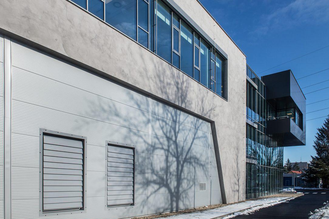 Fasáda s imitací betonu 2