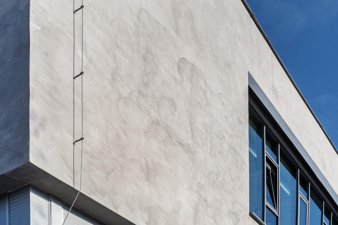 Fasáda s imitací betonu 3