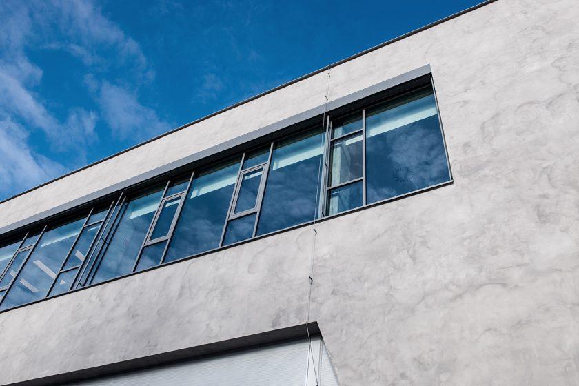 Fasáda s imitací betonu 4