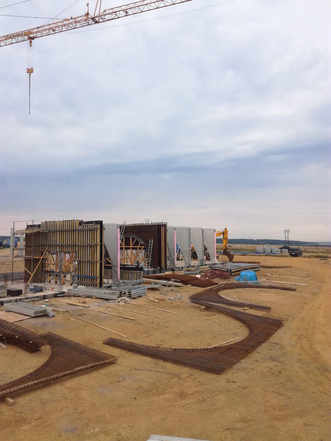 Předpokládaný termín dokončení výstavby je plánován na léto 2019