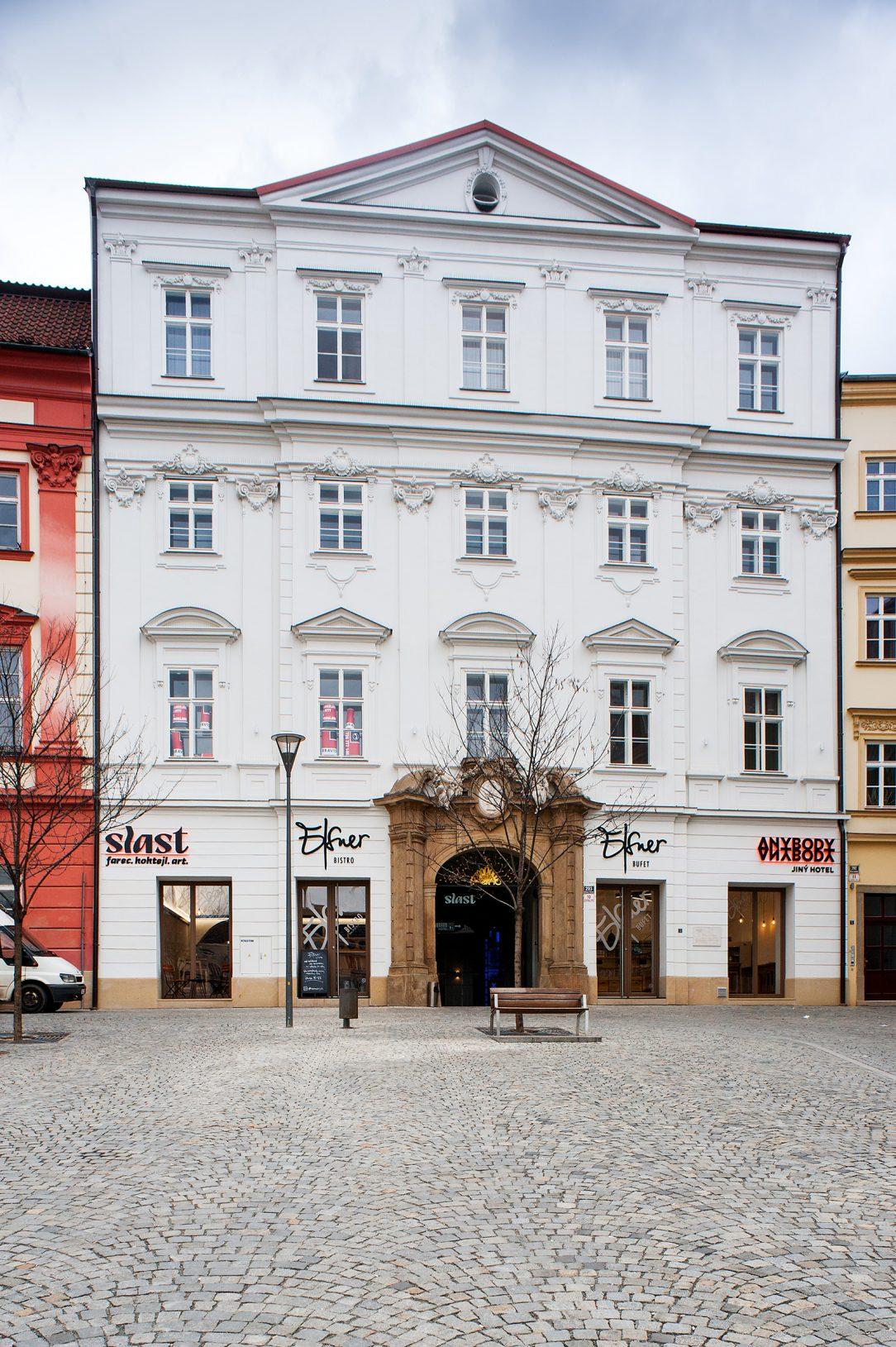 Palác opata žďárského kláštera