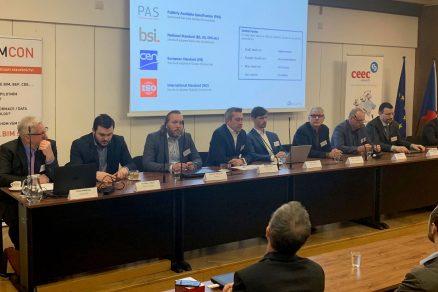 Panelisté workshopu BUDOUCNOST ZADÁVÁNÍ A REALIZACE STAVEBNÍCH ZAKÁZEK IX.