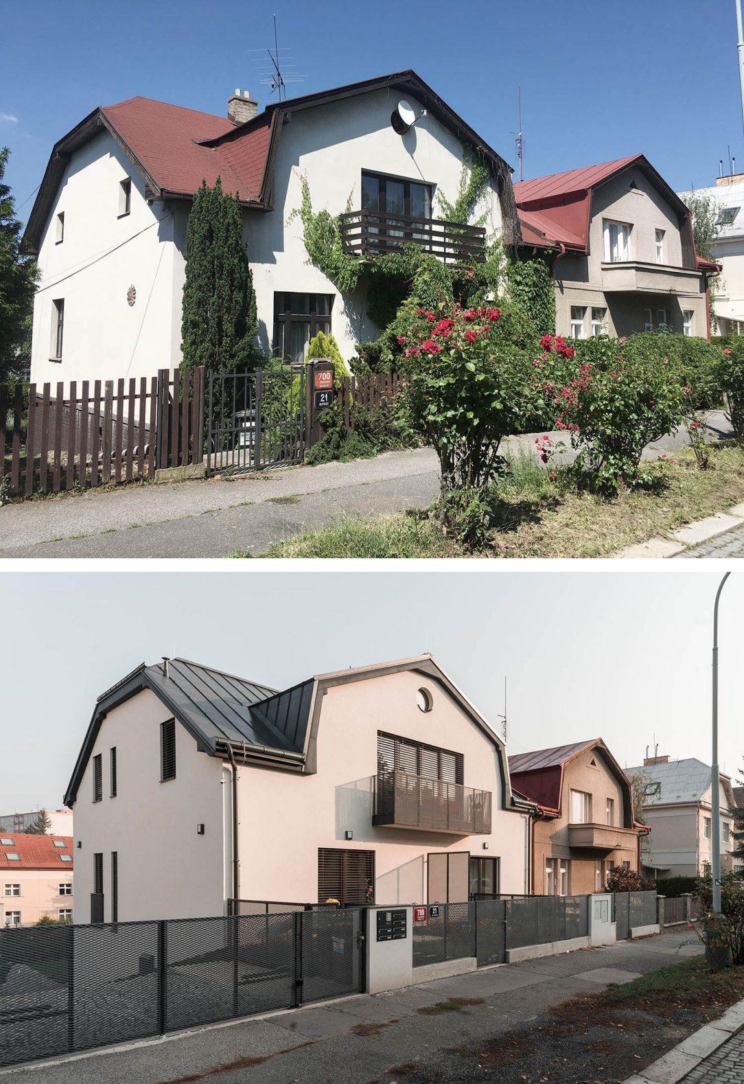 Rekonstrukce RD v Praze 22