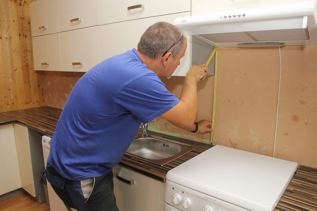 Výběr skla a zaměření kuchyně
