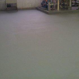 Ochranný nátěr nově realizovaných podlahových konstrukcí
