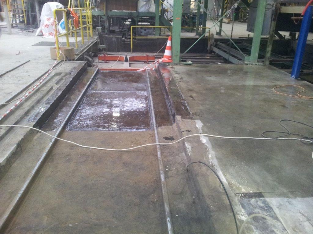 Ochranný nátěr stávající podlahy zvýšení chemické odolnosti