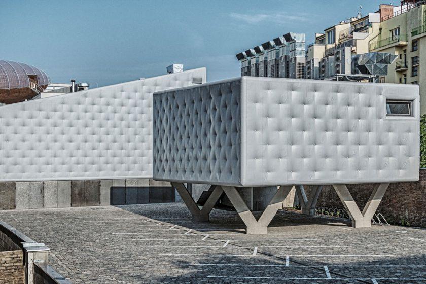 Petr Hájek laureát soutěže Architekt roku 2018 Soubor budov DOX v Praze 7 realizace 2018