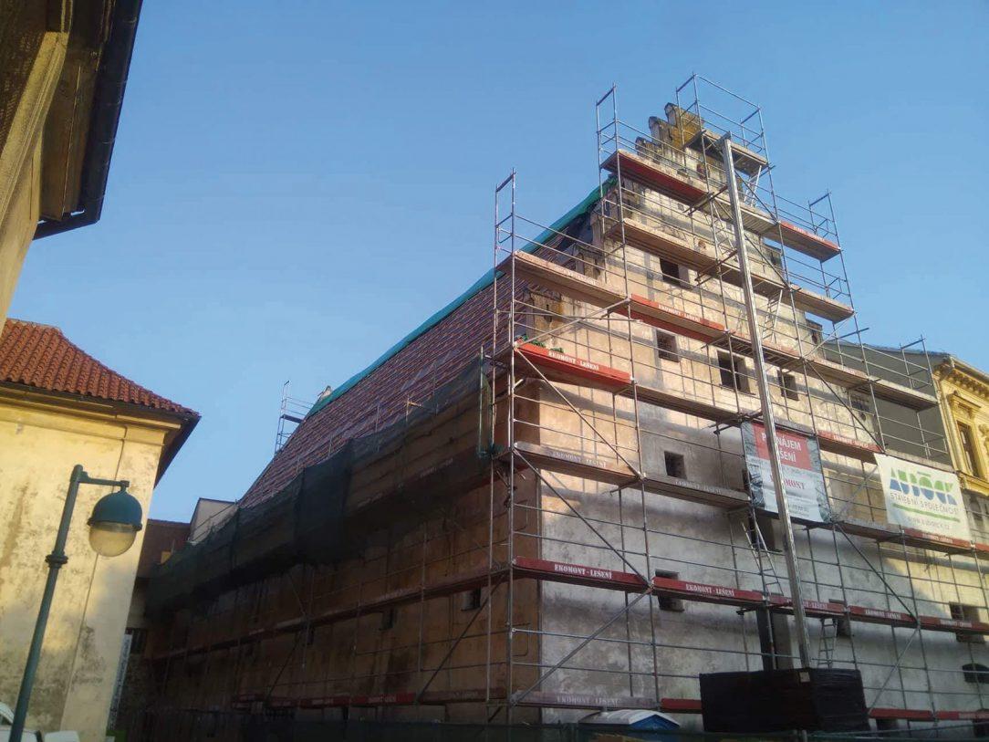 Rekonstrukce Solnice v Českých Budějovicích