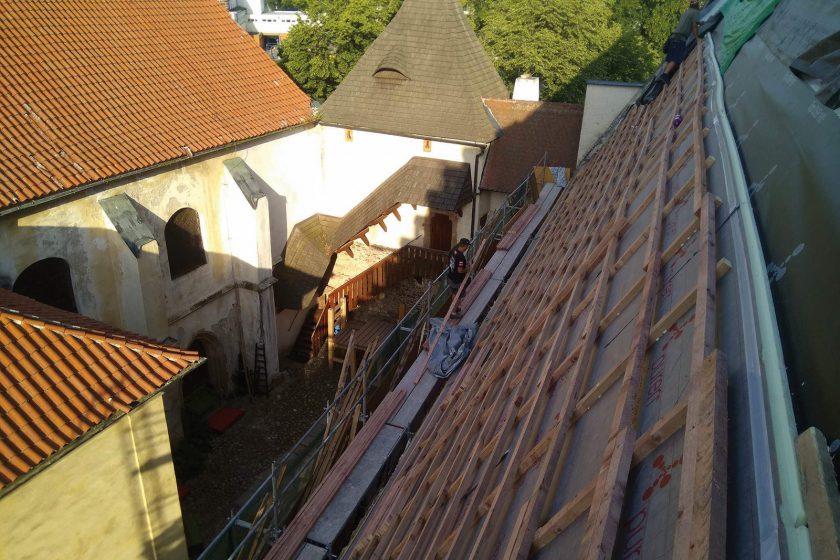 Rekonstrukce Solnice v Českých Budějovicích 2