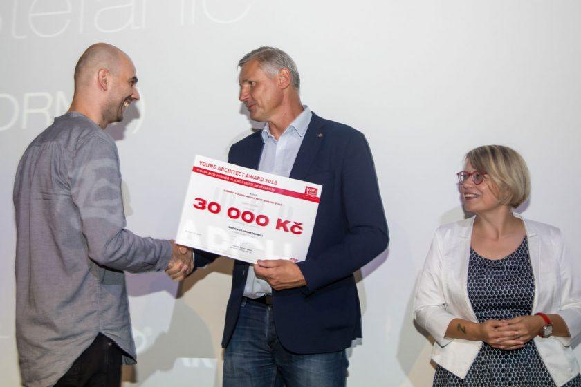 Titul CEMEX Young Architect Award Dušan Štefanič