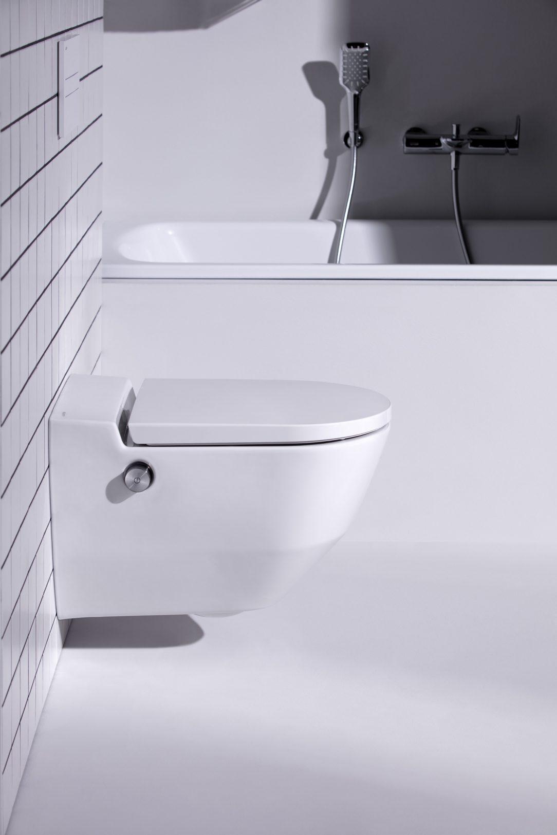 WC Cleanet Navia Nabízí vysoký uživatelský komfort a příjemný vzhled