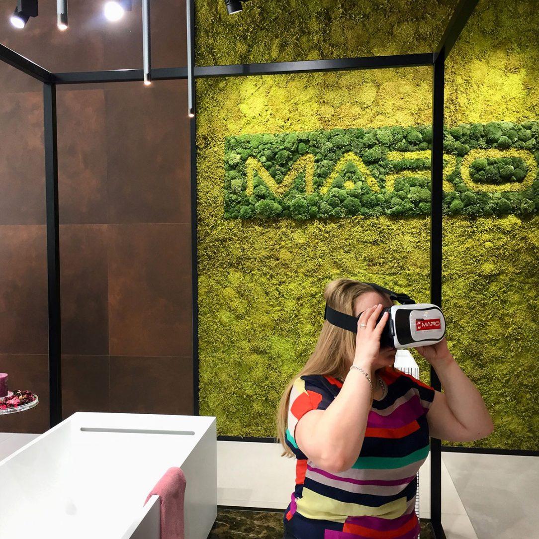 Vstoupit do své nové koupelny můžete pomocí 3D brýlí.